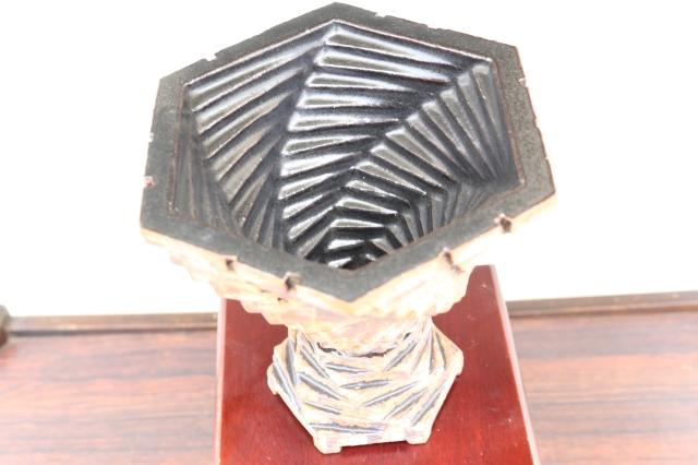当店オリジナル 螺旋 陶器鉢